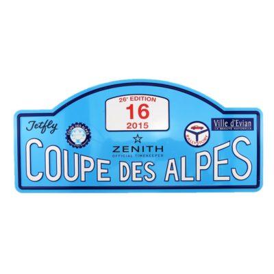 RSY - Plaque Coupe des Alpes 2015 - N°16